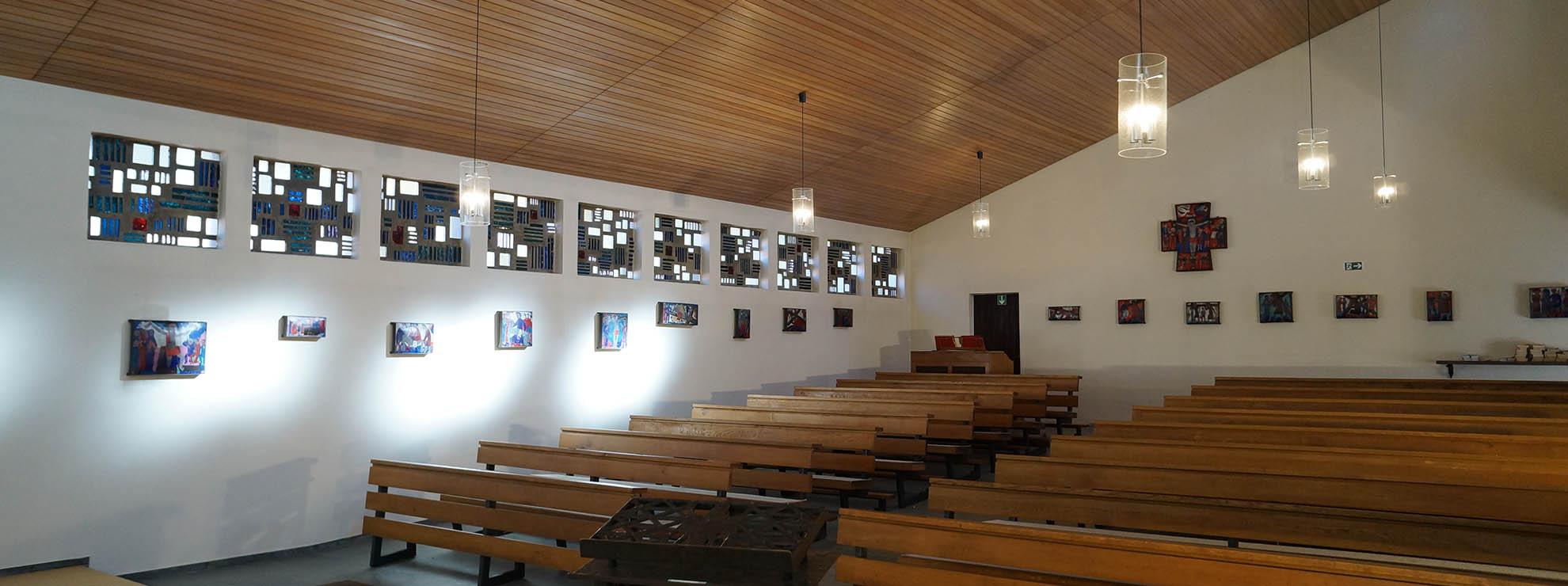 Christliche Gruppen finden bei uns eine eigene Kapelle