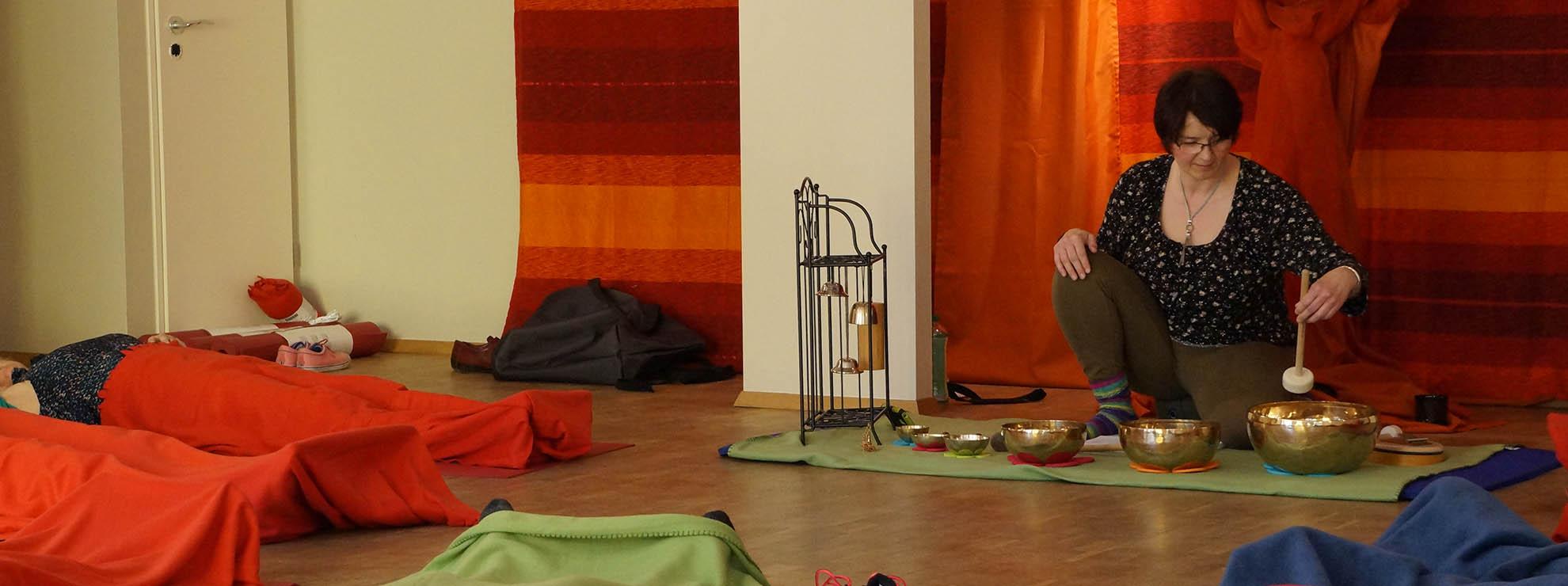 Sehr ruhiger Raum ideal für Meditation und Entspannung