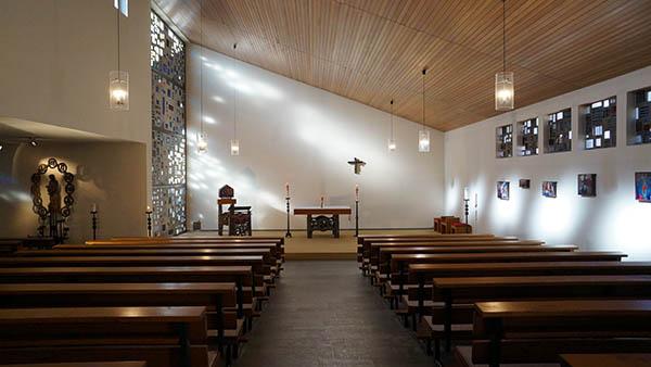 Eigene Kapelle für christliche Gruppen gehört zum Hotel